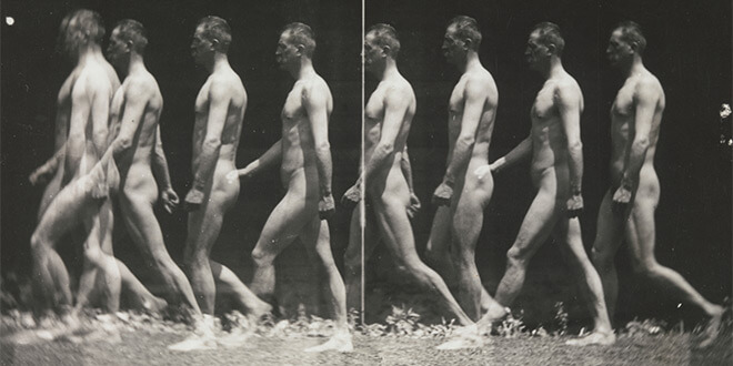 Man Walking, Thomas Eakins, CC0 1.0